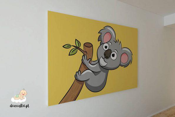 """Obraz na płótnie """"Serdeczny Koala"""""""