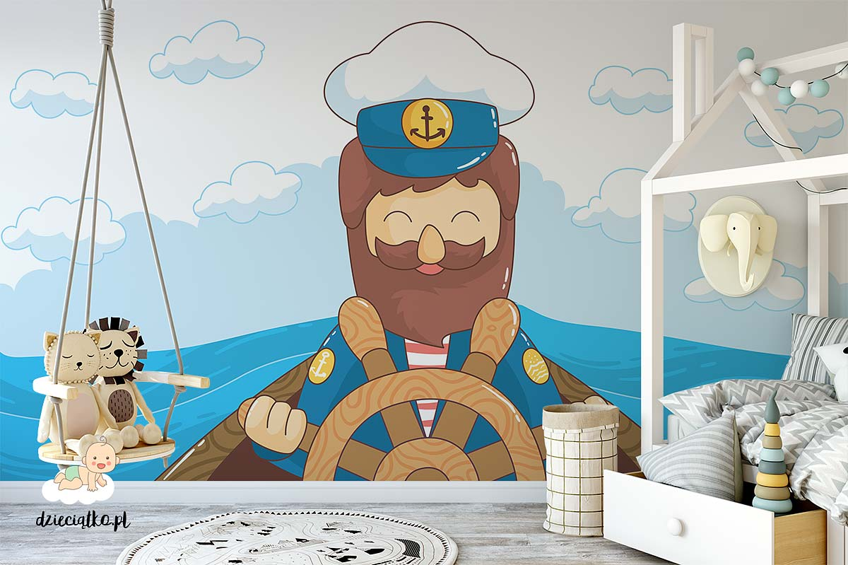 dzieciatko-fototapeta-marynarz-2