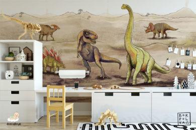fototapety dla dzieci dinozaury